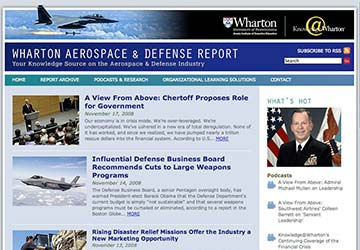 Wharton Aerospace and Defense Report