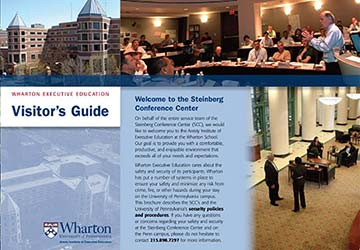 Wharton Executive Education Visitor's Guide