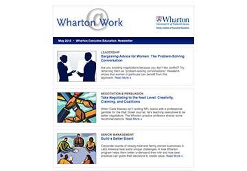 Wharton@Work