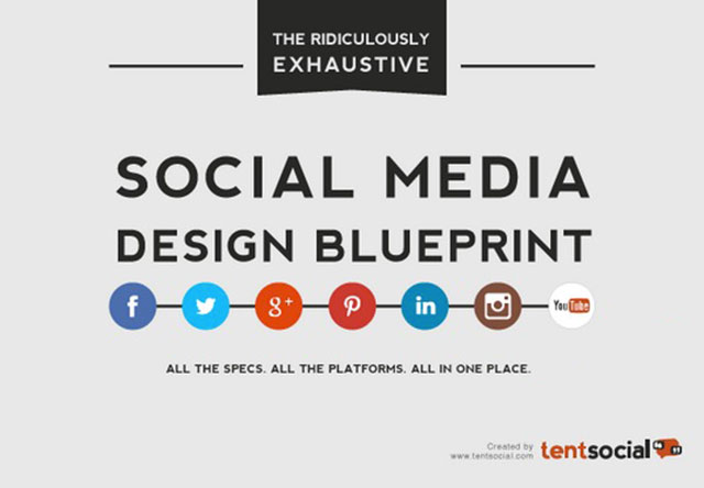 The Ridiculously Exhaustive Social Media Design Blueprint