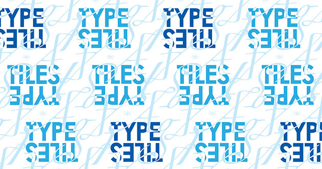 Poster in AIGA's TYPE TILES Show
